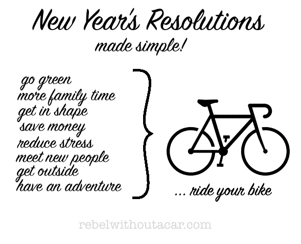 New Years Resolution - Rebel Without A Car