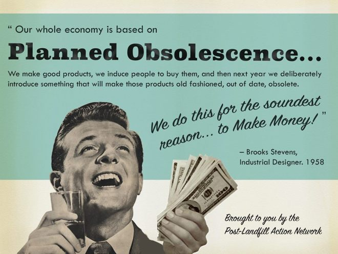 planned obsolescence
